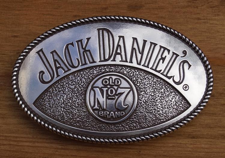 "Buckle  "" Jack Daniel's old no 7 brands """