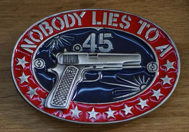 """Buckle  """" Nobody lies to a """""""