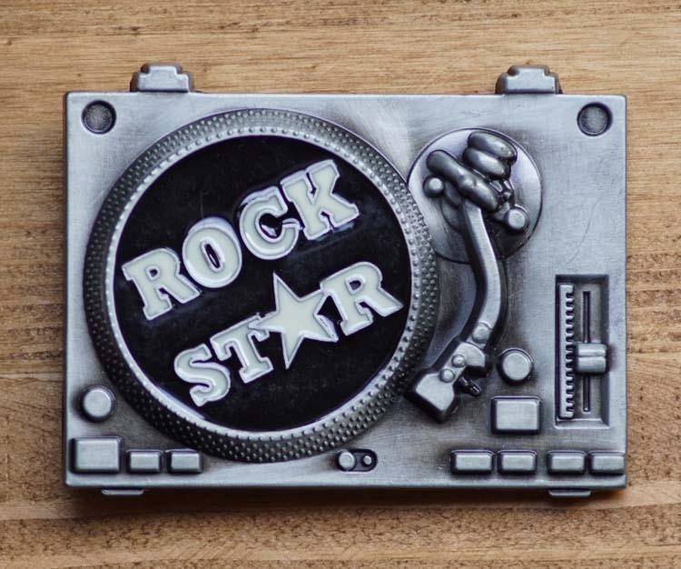 "Buckle  "" Rock star """