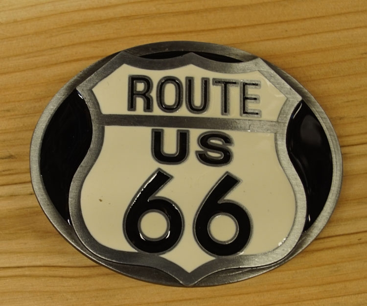 """Buckle  """" Route 66 """""""