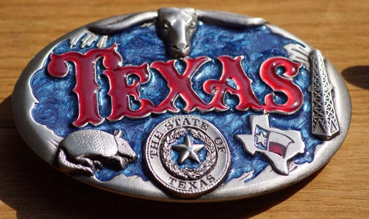"""Buckle  """" Texas """""""