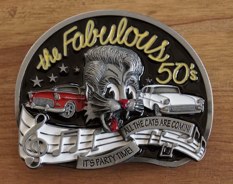 "Buckle  "" The fabulous 50s  """