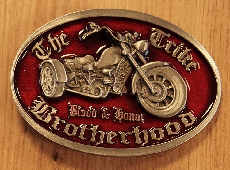 "Buckle  "" The trick brotherhood """