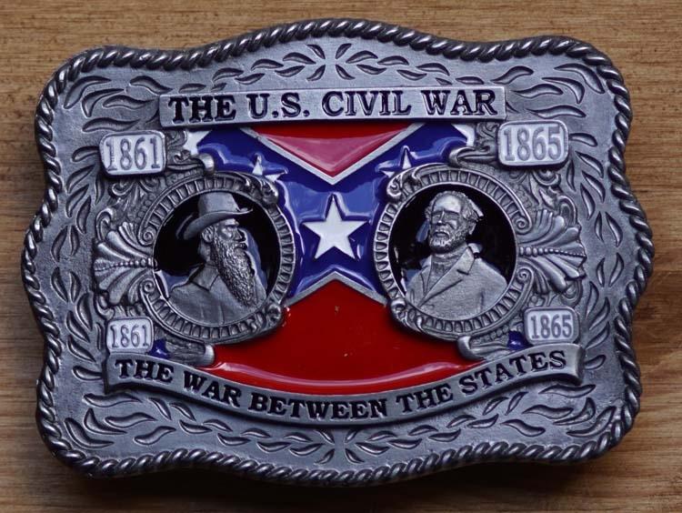 "Buckle  "" The U.S. civil war 1861 - 1865 """