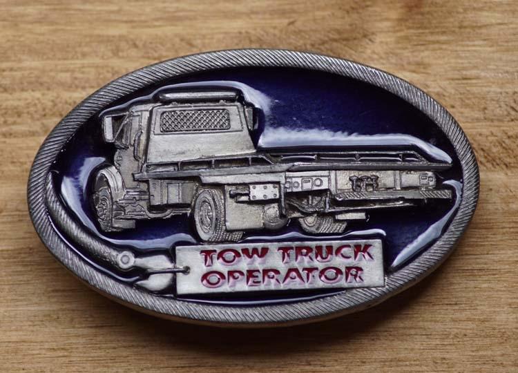 "Buckle ""  Tow trucker operator ""  Abschleppwagen"