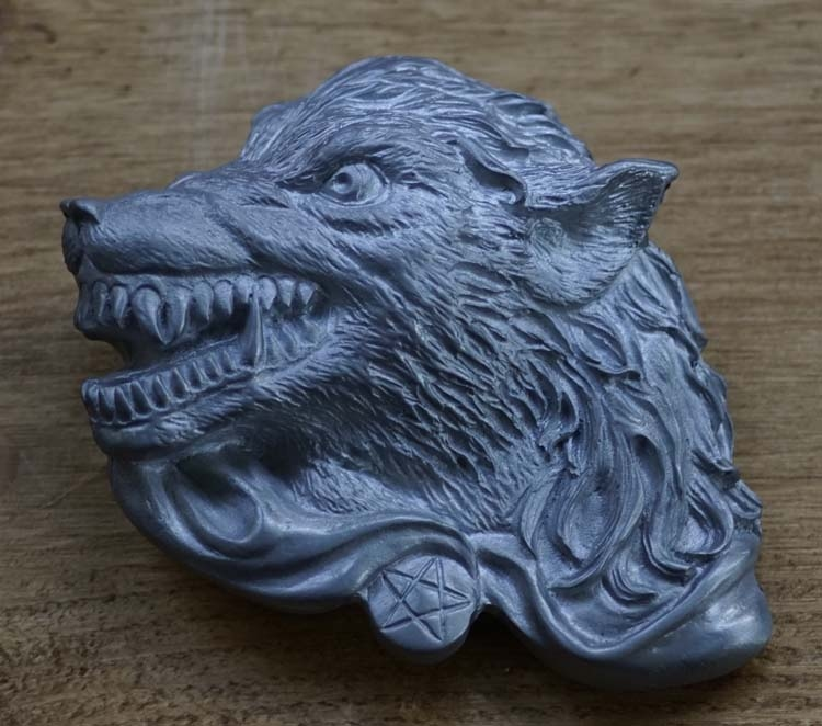 """Buckle  """" Werwolf """""""