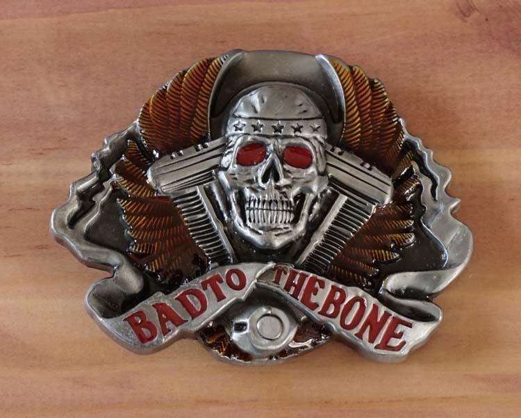 "Buckle "" Bad to the bone """
