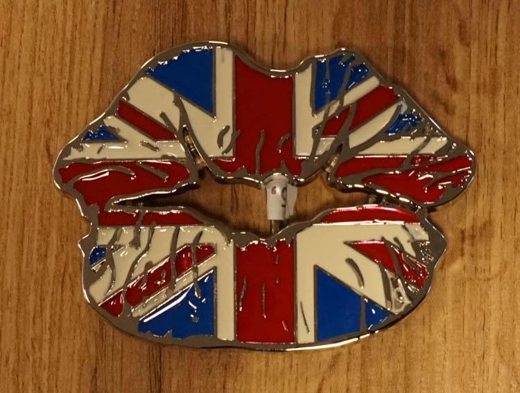 """Buckle """" Britischer Mund  """""""
