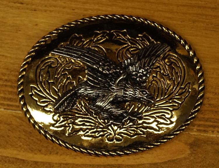 """Buckle """" Fliegende Adler """"  Silber und Gold Farbe"""