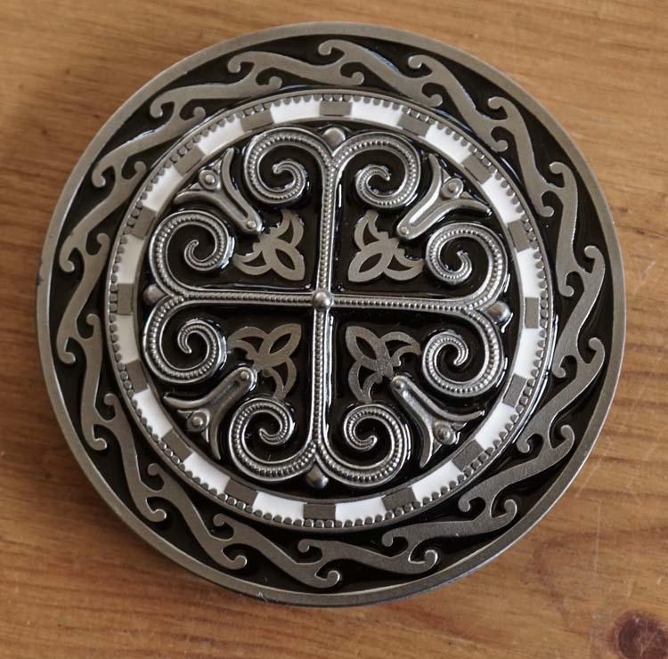 """Buckle """" Keltisches Kreuz """""""