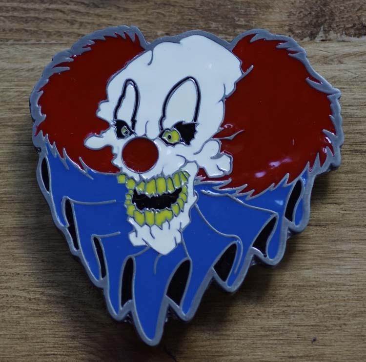 "Dekorative Schnalle "" Horror Clown """