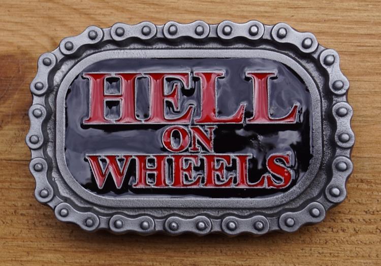"Grütelschnalle  "" Hell on wheel """