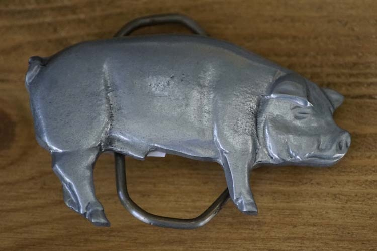"""Gürtelschallen   """" Schwein """""""