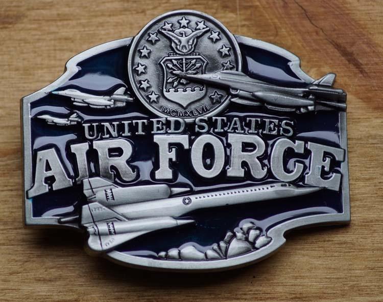 "Gürtelschnalle  ""  Air Foree United States """