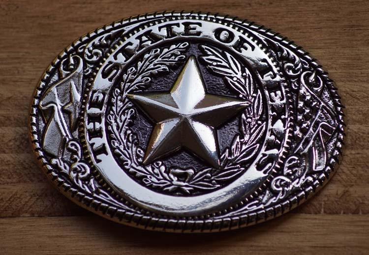 "Gürtelschnalle  ""  The state of Texas """
