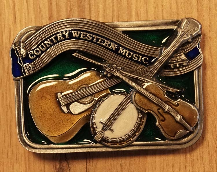"Gürtelschnalle  "" Country & western music """