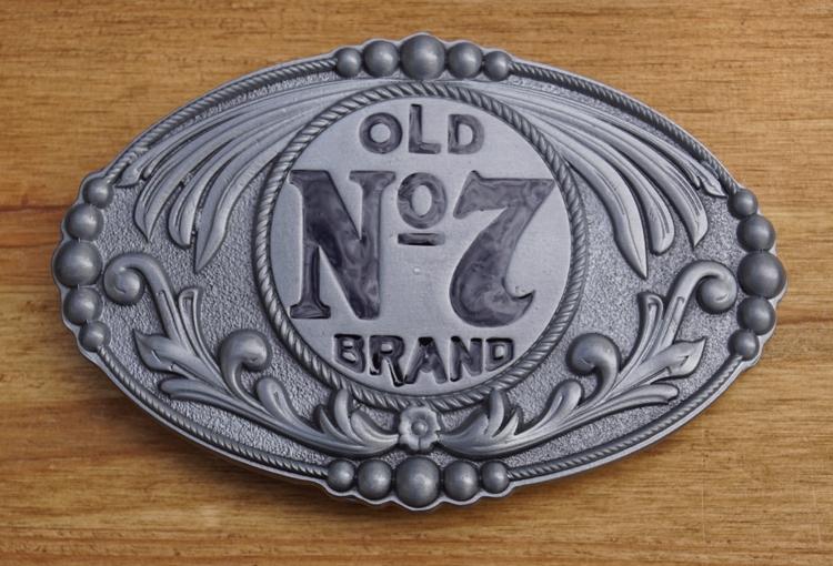 "Gürtelschnalle  "" Jack Daniel's old no 7 brands """