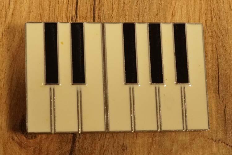 """Gürtelschnalle  """" Klaviertasten """""""