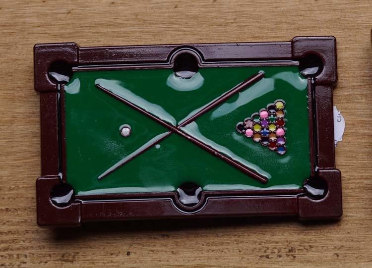 "Gürtelschnalle  "" Snooker """