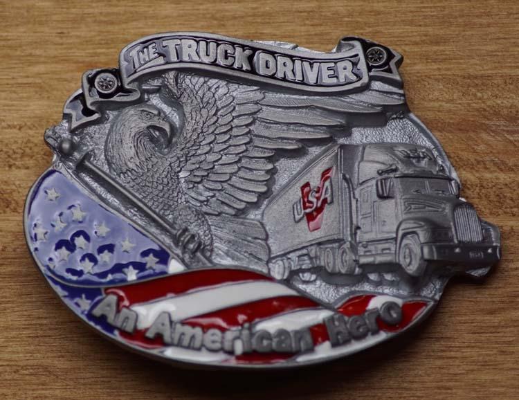 """Gürtelschnalle  """" The trucker driver """""""