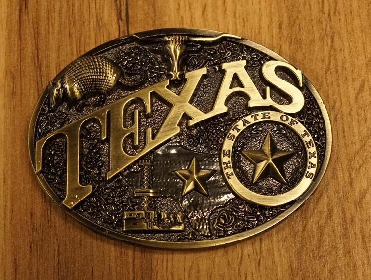 """Gürtelschnalle """" Texas """""""
