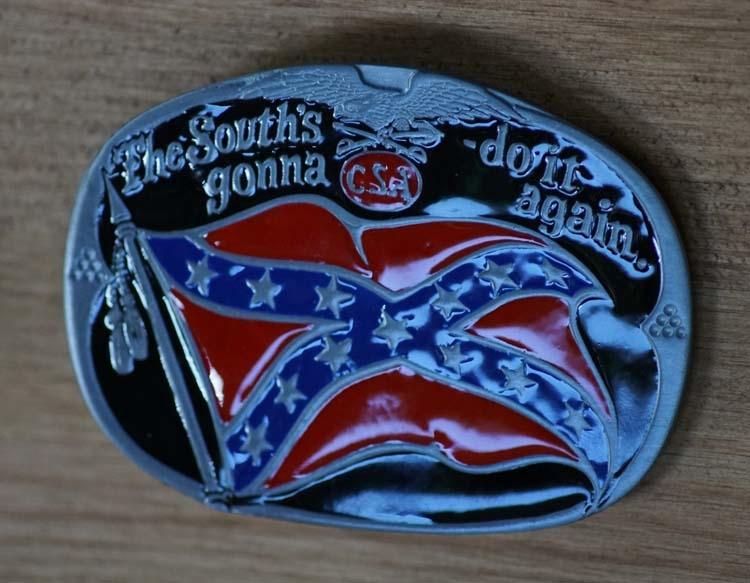"""Gürtelschnallen  """" Der Süden versucht es weiter """""""