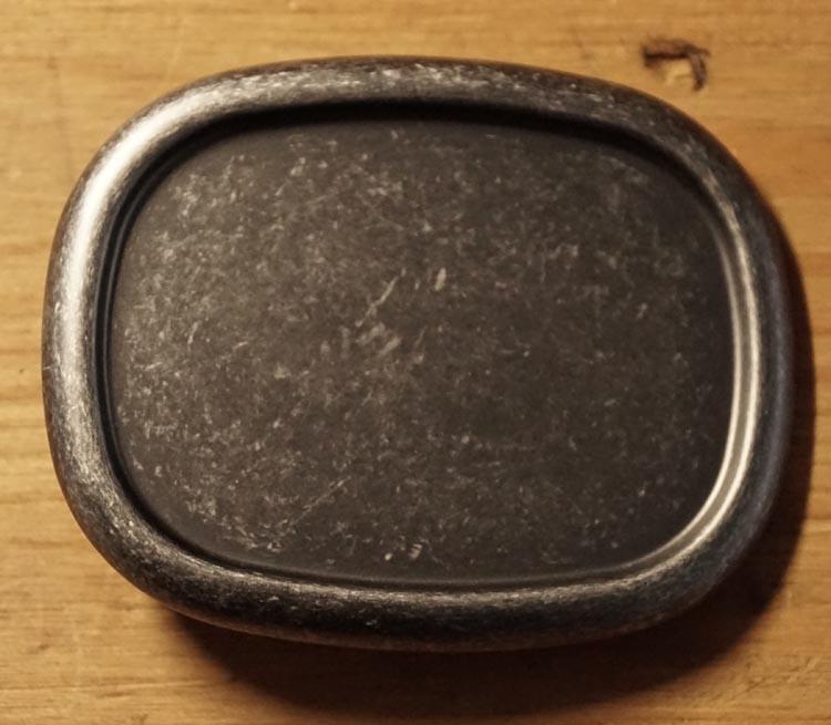 """Gürtelschnallen """" Rechteck mit runden Ecken  """" Nickel Farbe"""