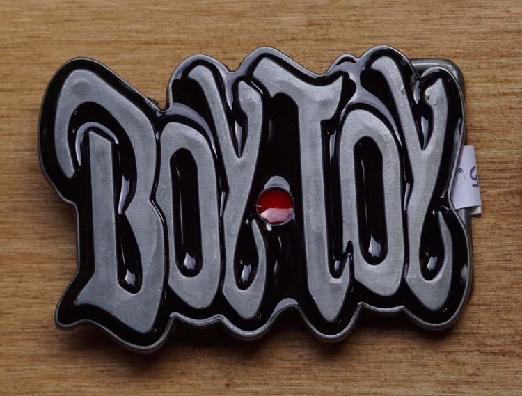 """Humor belt buckle  """" Boytoy """""""