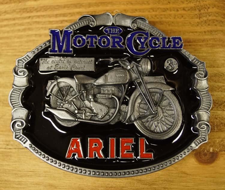 """Motor cylce buckle  """" Ariel """""""