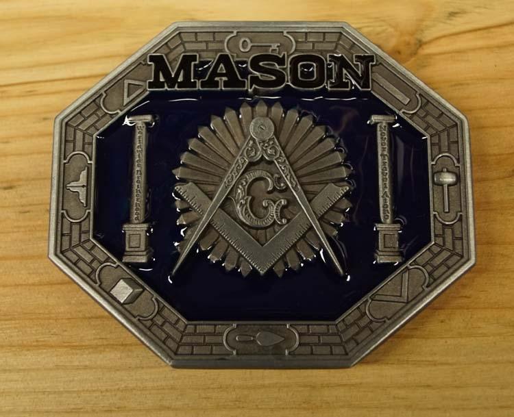 "Ornamental Buckle  "" Mason ""  ( Freimaurer )   AUSVERKAUFT"