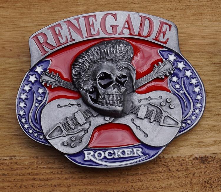 "Rock & Roll schnalle  "" Renegade """
