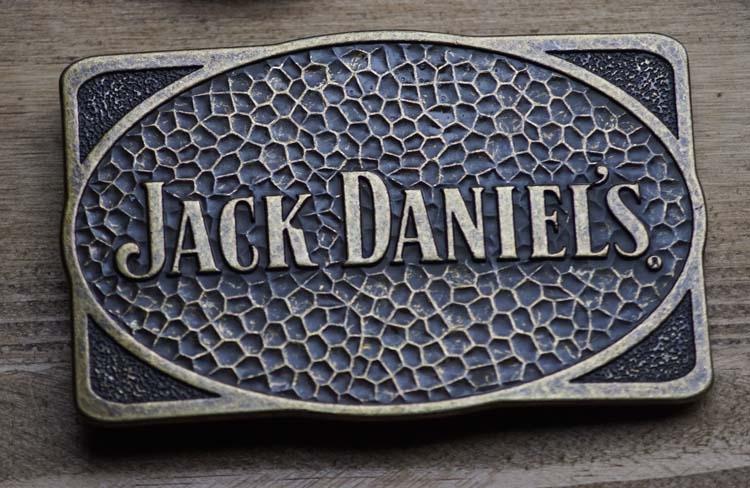 """Schließen Schnalle  """" Jack Daniels  """"  Kupferfarbe"""