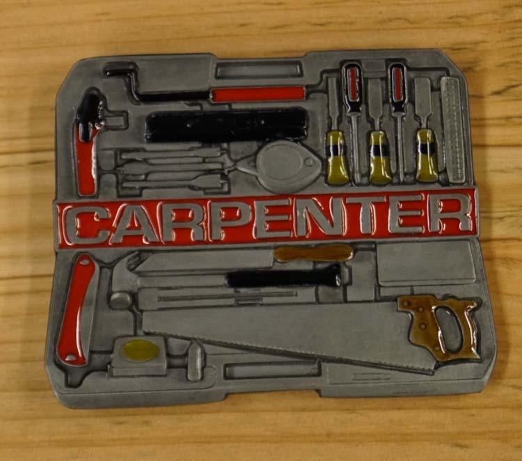 """Schliessen Schnalle  """" Carpenter """"  ( Tischler )"""