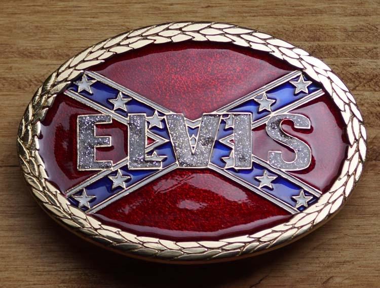 """Verschluss  """" Elvis """"  Rebellenflagge"""