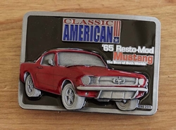 Classic American buckle