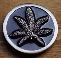 Cannabis Gürtelschnallen