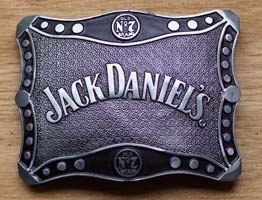 Jack Daniels Gürtelschnallen